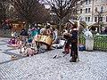 Staroměstské náměstí, indiánská kapela (01).jpg