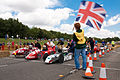 Start of the Greenpower Formula 24 Race at Ford's Dunton Technical Centre, Essex.jpg
