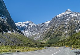 State Highway 94 in Fiordland National Park.jpg