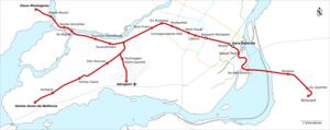 Réseau électrique métropolitain - Image: Stations REM