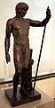 Statuetta di antinoo, da venezia, marmo nero, 130-140 dc ca. 01.JPG