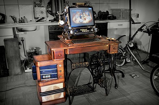 Steampunk workstation
