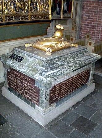 Sten Sture the Elder - 18th century burial monument in Strängnäs Cathedral