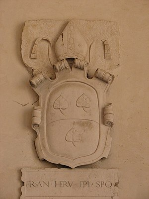 Francesco Eroli - Eroli's coat of arms