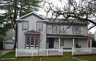 National Register of Historic Places listings in Washington County, Oregon - Image: Stephen and Parthena M. Blank House Forest Grove, Oregon