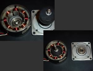 Stepper motor - A bipolar hybrid stepper motor