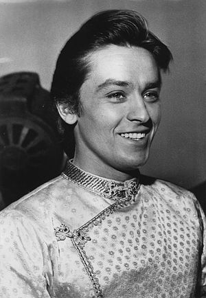 Cinema of France - Alain Delon was known as much for his beauty as for his acting career and holds an enduring status as a leading man in French cinema.