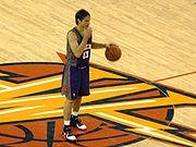 Steve Nash at Suns at Warriors 3-15-09 1