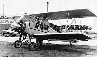 Stinson Detroiter - A Stinson SB-1 Detroiter biplane as originally built