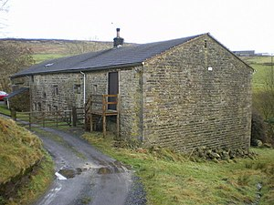 Listed buildings in Cliviger - Image: Stiperden House Farm geograph.org.uk 1118960