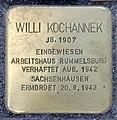 Stolperstein Alexanderplatz 2 (Mitte) Willi Kochannek.jpg
