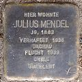 Stolperstein Arnstadt Ried 7-Julius Mendel.JPG
