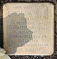 Stolperstein Berliner Str 26 (Tegel) Erich Mammach.jpg
