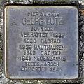 Stolperstein Georg Lutz (Wetzlarer Straße 19 Butzbach).jpg
