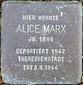 Stolperstein Köln, Alice Marx (Goltsteinstraße 20).jpg