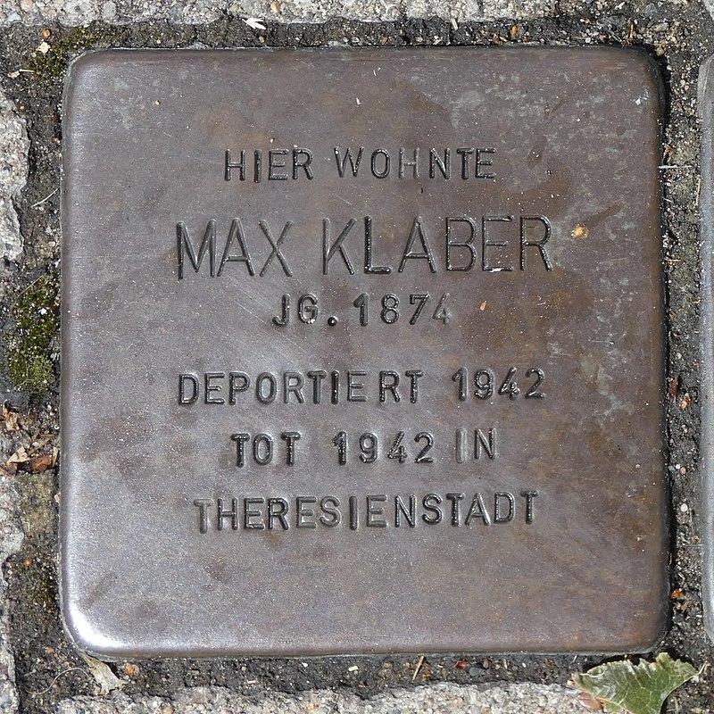 Stolperstein Max Klaber in Borken (Westfalen).jpg