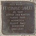 Stolperstein für Ferdinand Samuel.jpg