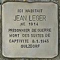 Stolperstein für Jean Leger (Cartelègue).jpg