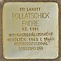 Stolperstein für Pollatschick Endre.jpg