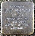 Stolpersteine Amsterdam, Levie van West (Rechtboomssloot).jpg