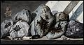 Stones or crystals from Mount Vesuvius. Coloured etching by Wellcome V0025296.jpg