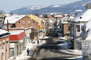 Vestfossen