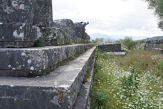 Stratos, Greece - Temple of Zeus