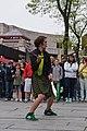 Street performer, Quincy Market (7208035348).jpg