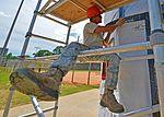 Structural specialists renovate softball field press box 160913-F-MT297-0195.jpg