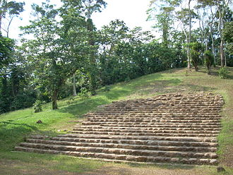 History of the Maya civilization - Structure 5 at Takalik Abaj was built during the Middle Preclassic.