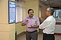 Subhabrata Chaudhuri Demonstrating NDL Facilities To Swapan Kumar Roy - NCSM - Kolkata 2016-08-22 5980.JPG