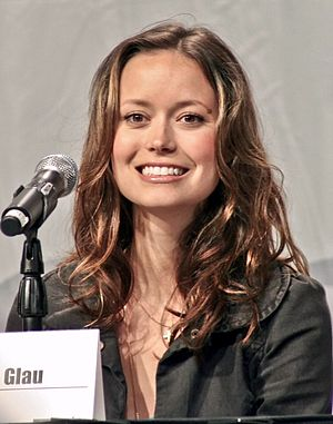 Summer Glau at WOnderCon 2008