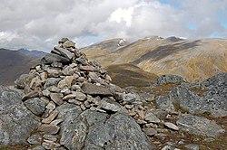 Summit cairn, An Socach - geograph.org.uk - 1319384.jpg