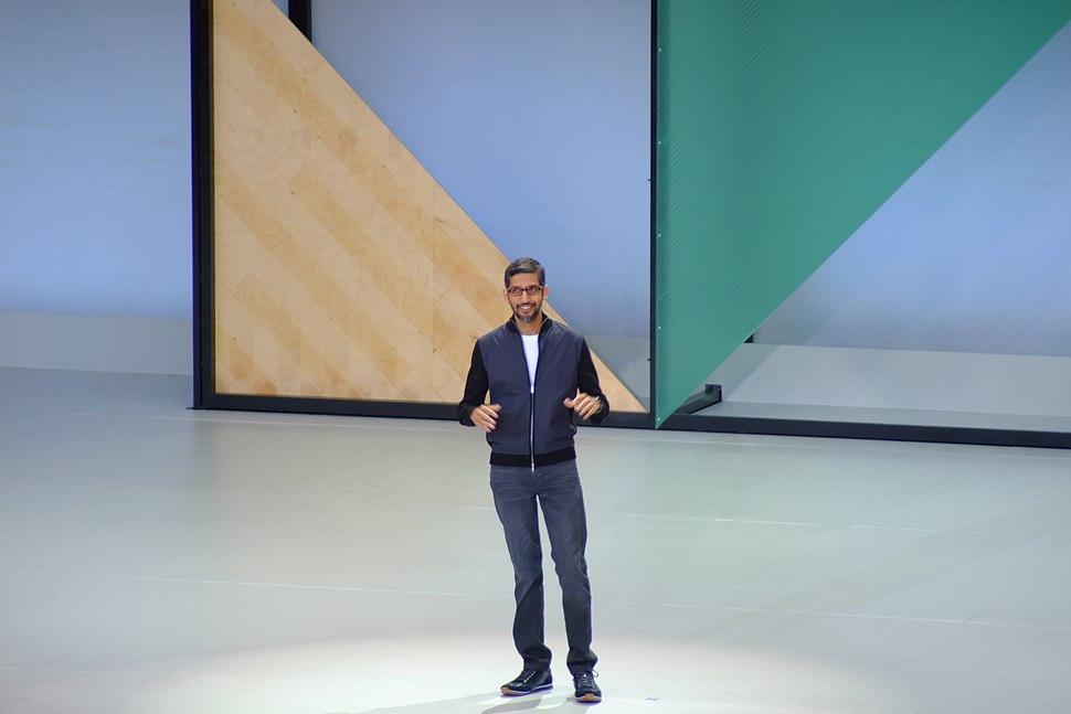 Sundar Pichai at Google IO 2017 Keynote