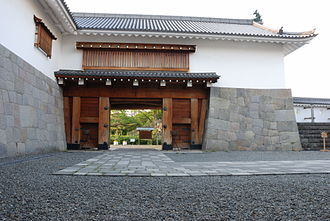 Sunpu Castle - Reconstructed East Gate of Sunpu Castle