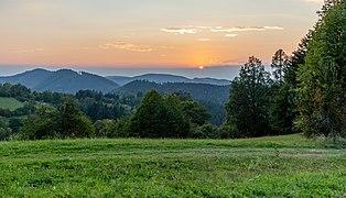 Sunset in Javorníky, Czech Republic 16.jpg