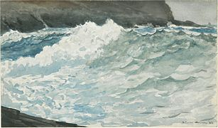 Surf Prout's Neck by Winslow Homer 1883.jpeg