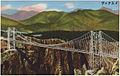 Suspension bridge over the Royal Gorge, Canon City, Colorado. (7725169686).jpg