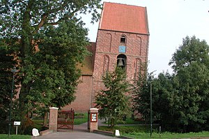 Leaning Tower of Suurhusen - Image: Suurhusen Church, East Frisia, Germany. Pic 02