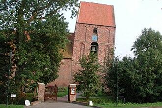 Leaning Tower of Suurhusen - Image: Suurhusen Church, East Frisia, Germany. Pic 02
