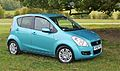 Suzuki Splash SZ4. Lagoon Turquoise. Has ESP plus keyless start ^ other toys - Flickr - mick - Lumix.jpg