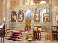 Солея в соборі свєтіцховелі