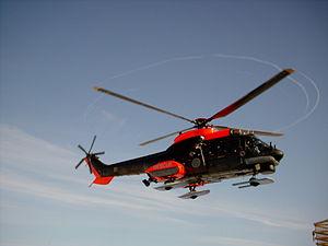Eurocopter Super Puma of the Swedish 1st Helic...