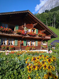 Chalet wikipedia for Swiss chalets for sale