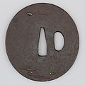 Sword Guard (Tsuba) MET 19.154.36 003feb2014.jpg