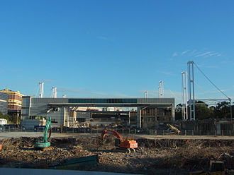 Sydney Convention and Exhibition Centre - Exhibition Centre in process of demolition March 2014