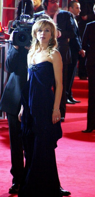 Sylvie Testud - Testud at the César Awards 2008.
