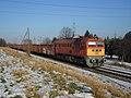 Szeged H-MÁVTR M62 145 (628 145) tehervonattal 2014-02-03.JPG