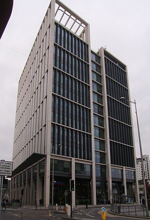 Admiral Insurance - Tŷ Admiral. The head office of Admiral Insurance