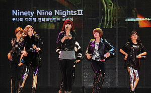 T-ara - T-ara performing at the Xbox 360 Invitational in 2009